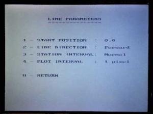 GPR Noggin Plus Line Parameters