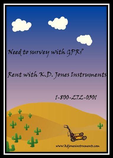 GPR Rental with KD Jones Instruments