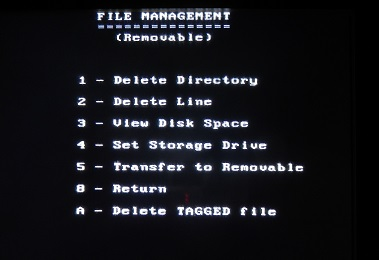PulseEKKO Pro File Management Screen