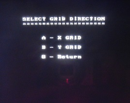 PulseEKKO Pro Select Grid Direction Screen
