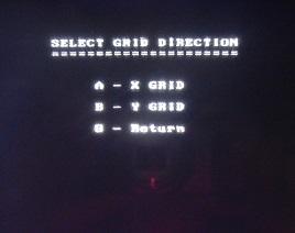 PulseEKKO Pro Select Grid Direction Screen