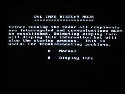 PulseEKKO Pro DVL Info Display Mode Screen
