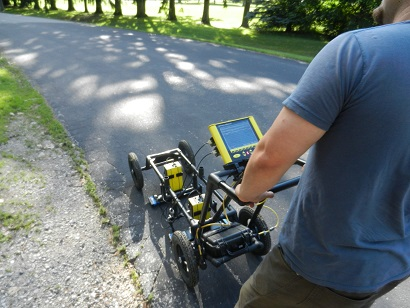 Before creating a GPR Grid, run without saving
